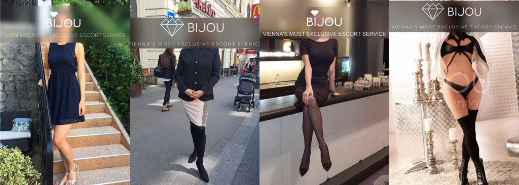 Austrian Escort Girls at Bijou Escort Agency in Wien