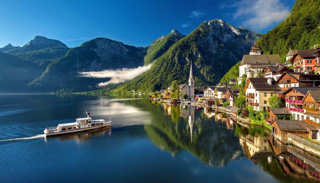 a lake in Austria
