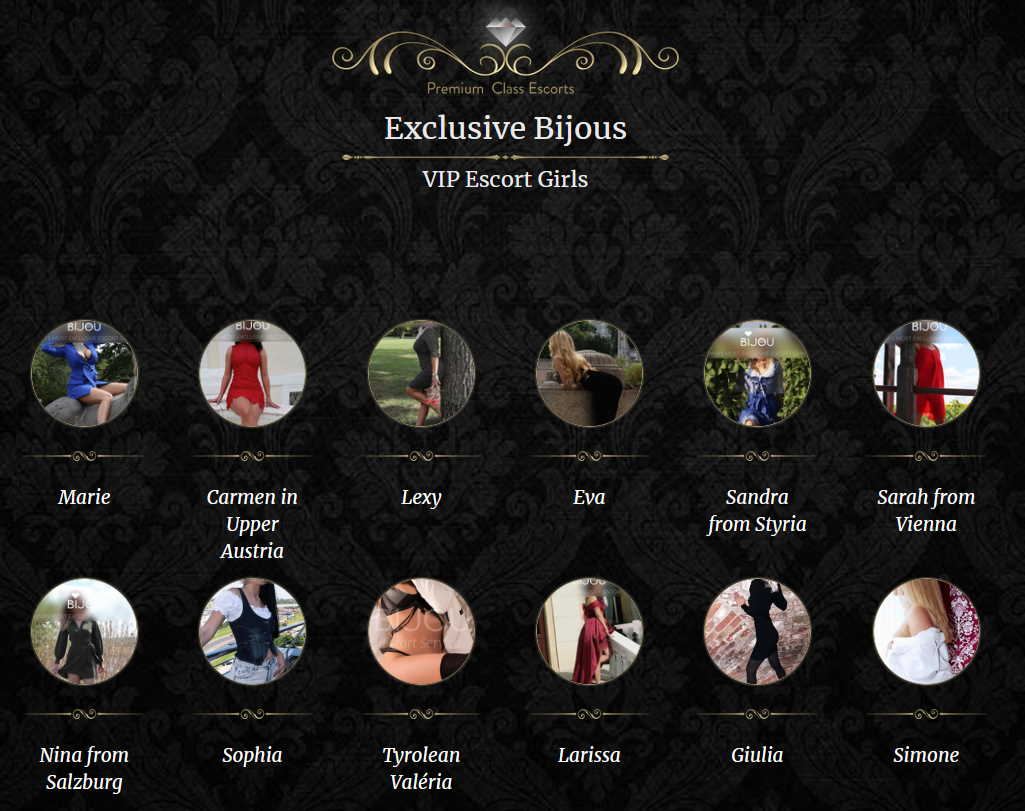 VIP Escort Girls at Bijou Escort Wien